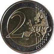 2 euros Académie de Platon -  revers