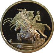 10 euros JO 2004 Équitation – revers