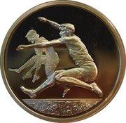 10 euros JO 2004 Saut en longueur – revers