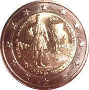 2 euros Spyrídon Loúis – avers