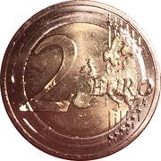 2 euros Spyrídon Loúis – revers