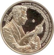 5 euros Vassílis Tsitsánis – avers