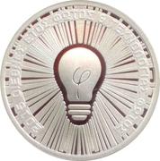 6 euro - 2015 — International year oF Light – revers