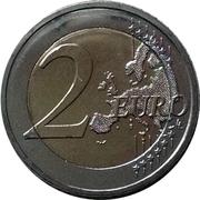 2 euros Monastère d'Arkadi – revers