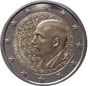 2 euros Dimitri Mitropoulos – avers
