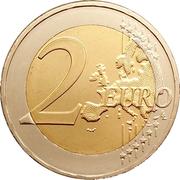 2 euros Marathon – revers