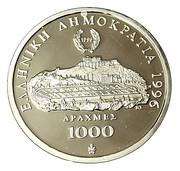 1000 drachmes – avers