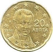 20 cents d'euro (2e carte) – avers