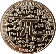 6 euros Société mathématique hellénique – revers