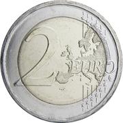 2 euros Kostís Palamás -  revers