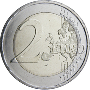 2 euros Unification des îles du Dodécanèse – revers