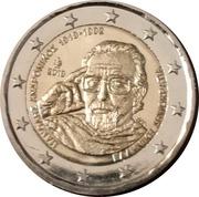 2 euros Manólis Andrónikos – avers