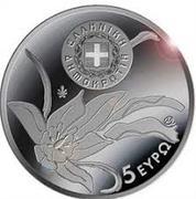 "5 Euro (Endemic Flora of Greece ""Tulipa Goulimyi"") – avers"