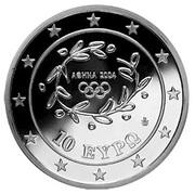 10 Euro (Olympics - Asia) – avers
