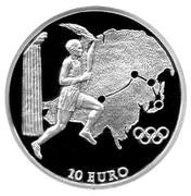 10 Euro (Olympics - Asia) – revers