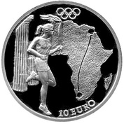 10 Euro (Olympics - Africa) – revers