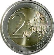 2 euros Bataille des Thermopyles – revers