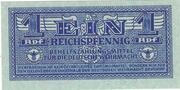 1 Reichspfennig – avers