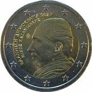 2 euros Níkos Kazantzákis -  avers
