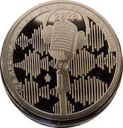 6 euros Fondation de la radio nationale – revers