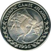 5 Euro (1996 Summer Olympics in Atlanta) – revers