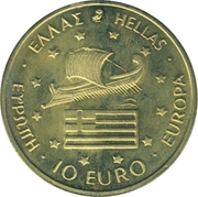 10 Euro (1996 Summer Olympics in Atlanta) – avers