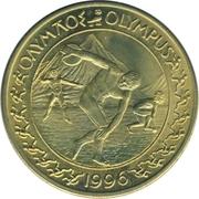 10 Euro (1996 Summer Olympics in Atlanta) – revers