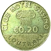 20 Euro Cent - Club Hotel Casino (Loutraki, Greece) – avers