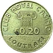 20 Euro Cent - Club Hotel Casino (Loutraki, Greece) – revers