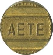 Jeton de téléphone - AETE (B) – avers