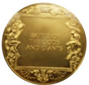 Médailles Grèce La Gigantomachie – revers