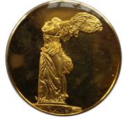 Médailles Grèce La Victoire de Samothrace – avers