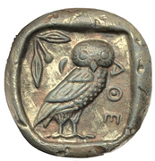 Art medal - Tetradrachm of Athens – revers