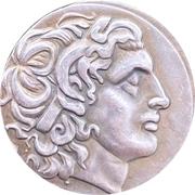 Alexander's drachma souvenir – avers