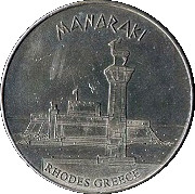 Hellenic Heritage Collectors Coin - Rhodes (Mandraki) – avers