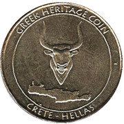 Greek Heritage Coin - Crete (Knossos Palace) – avers