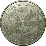 Hellenic Heritage Collectors Coin - Rhodes (La Vallée des Papillons) – avers