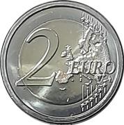 2 euros Révolution grecque – revers