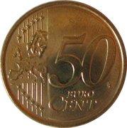 50 cents d'euro (2e carte) -  revers