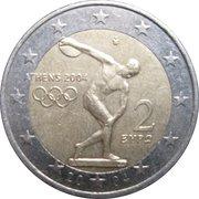 2 euros JO 2004 Jeux d'été d'Athènes -  avers