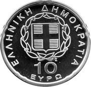 10 euros Présidence de l'UE – avers