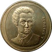 20 drachmes (République - Solomos) -  avers