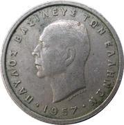 50 lepta (Royaume - Paul I) -  avers