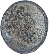 Ptolemy, AE19 of Chalkis sub Libano -  avers