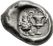Drachm (Syangela) – revers