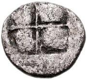Tetrobol (Bisaltai) – revers