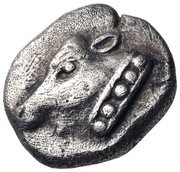 Obol (Uncertain Ionian mint) – avers
