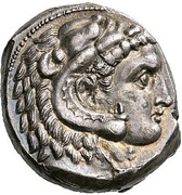 Tetradrachm (Uncertain Punic mint) – avers