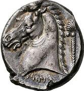 Tetradrachm (Uncertain Punic mint) – revers