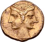 3/8 Shekel (Bruttium - Punic) – avers